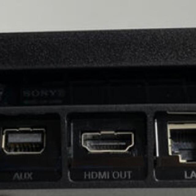 PlayStation4(プレイステーション4)の【美品】ps4 2200 1TB コントローラー2個付 エンタメ/ホビーのゲームソフト/ゲーム機本体(家庭用ゲーム機本体)の商品写真