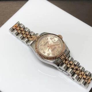 ROLEX - ロレックス デイトジャスト 10Pダイヤ 179171G ピンク