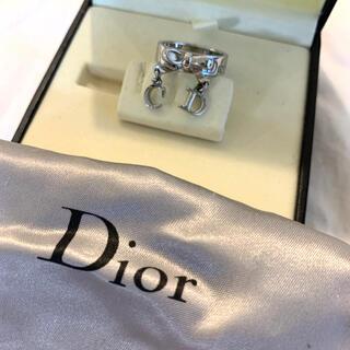 Christian Dior - Christian Dior クリスチャン ディオール 指輪 リング リボン