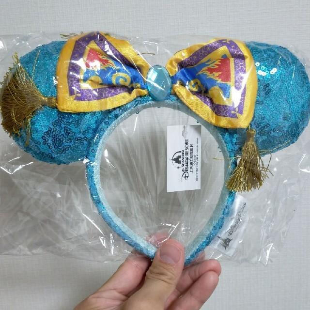 【海外限定】ディズニー ジャスミンモチーフ 魔法の絨毯 カチューシャ インスタ レディースのヘアアクセサリー(カチューシャ)の商品写真