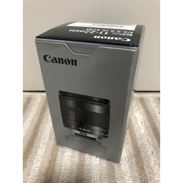 Canon(キヤノン)の【美品】Canon EF-M11-22mm F4-5.6 IS STM スマホ/家電/カメラのカメラ(レンズ(ズーム))の商品写真