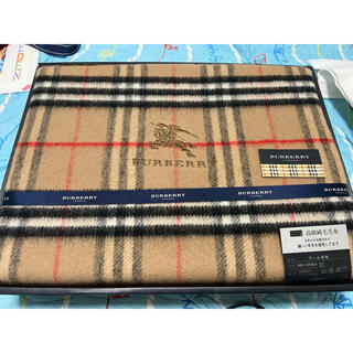 BURBERRY - バーバリー ウール100%毛布