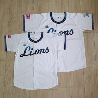 埼玉西武ライオンズ - 西武ライオンズ 70周年 ユニフォーム 2枚セット Sサイズ Lサイズ