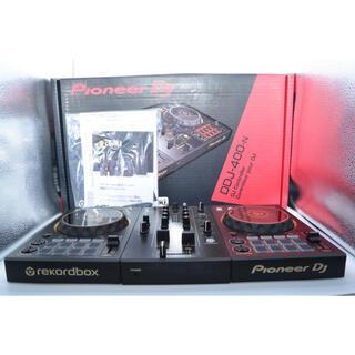 パイオニア(Pioneer)の【極美品】Pioneer DJコントローラー DDJ-400-N(限定モデル)(DJコントローラー)