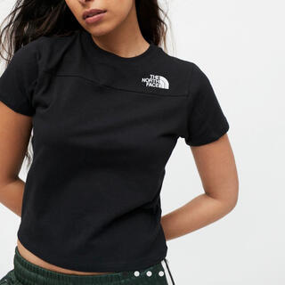 THE NORTH FACE - [新品未使用]The North Face Logo Cropped Tee