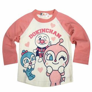 アンパンマン - 新品 90cm アンパンマン ドキンちゃんラグラン長袖Tシャツ