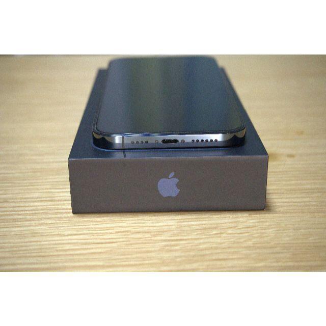 Apple(アップル)のiPhone 12 Pro Max 256GB パシフィックブルー SIMフリー スマホ/家電/カメラのスマートフォン/携帯電話(スマートフォン本体)の商品写真