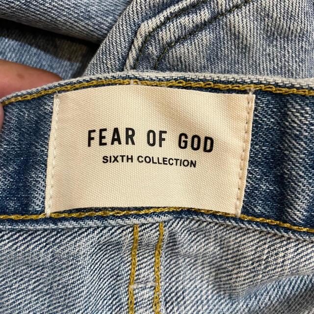 FEAR OF GOD(フィアオブゴッド)の【希少】fear of god ダブルニー デニム メンズのパンツ(デニム/ジーンズ)の商品写真
