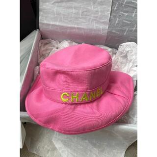 CHANEL - シャネル 可愛い コットン ハット 帽 子