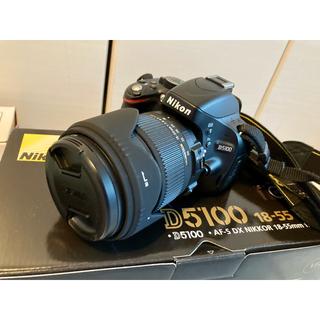 Nikon - ニコンD5100とSIGMAの18-50mmレンズセット