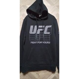 リーボック(Reebok)のリーボック Reebok UFC パーカー Lサイズ 黒(パーカー)