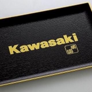 カワサキ(カワサキ)の⭐︎ カワサキ  Kawasaki 純正 漆塗りトレイ(その他)