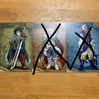 BANDAI - 僕のヒーローアカデミア 十傑 ポストカード