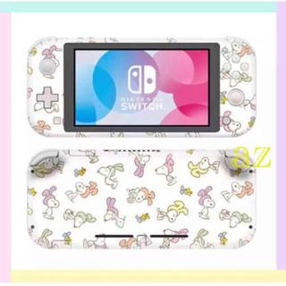 Nintendo Switch - ◎SALE◎ スヌーピー 任天堂SwitchLite 保護スキンシール