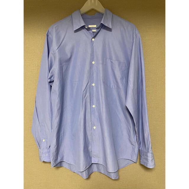 COMOLI(コモリ)のCOMOLIコモリ 21ssレギュラーカラー長袖シャツ M(2) メンズのトップス(シャツ)の商品写真
