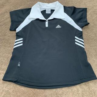 アディダス(adidas)の【お買得】 Lサイズ adidas   テニスウェア レディース ゲームシャツ(ウェア)