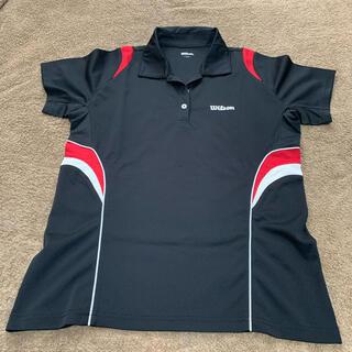 ウィルソン(wilson)の【お買得】 Lサイズ Wilson   テニスウェア レディース ゲームシャツ(ウェア)