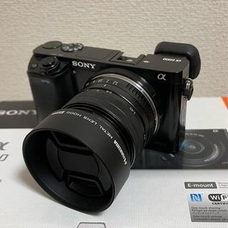 SONY - SONY α6000ボディのみ 単焦点レンズセット