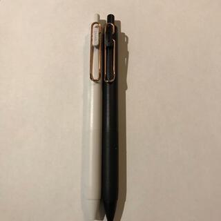 ミツビシエンピツ(三菱鉛筆)のユニボール ワン ローズゴールド 限定(ペン/マーカー)