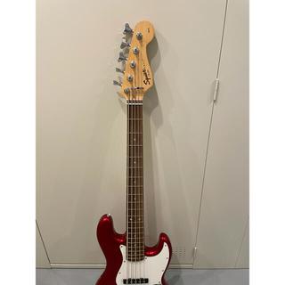 フェンダー(Fender)のSquier Affinity Fender Jazz Bass  5弦ベース (エレキベース)