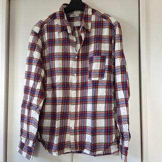 ロデオクラウンズワイドボウル(RODEO CROWNS WIDE BOWL)のロデオクラウンズ ネルシャツ(シャツ)