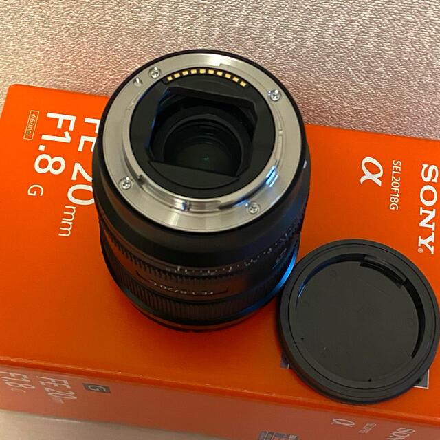 SONY(ソニー)のSONY FE 20mm F1.8 G SEL20F18G ソニー スマホ/家電/カメラのカメラ(レンズ(単焦点))の商品写真