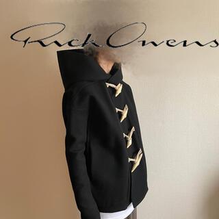 Rick Owens - 【名作】RICK OWENS ダッフルコート hooded duffle