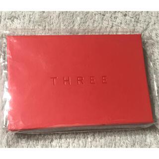 THREE - 【非売品】レア☆THREE ミラー鏡リリカルリップフィルム