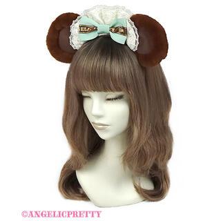 アンジェリックプリティー(Angelic Pretty)のBear's Chocolaterieカフェカチューシャ (カチューシャ)