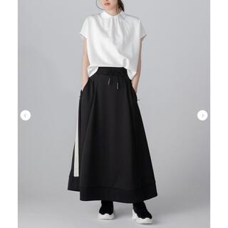 ダブルスタンダードクロージング(DOUBLE STANDARD CLOTHING)のDOUBLE STANDARD ESSENTIAL ブライトキングマキシスカート(ロングスカート)