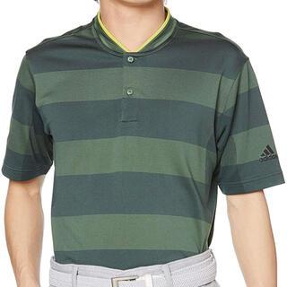 adidas - ゴルフ シャツ PRIMEKNIT スタンドカラーシャツ adidasポロシャツ