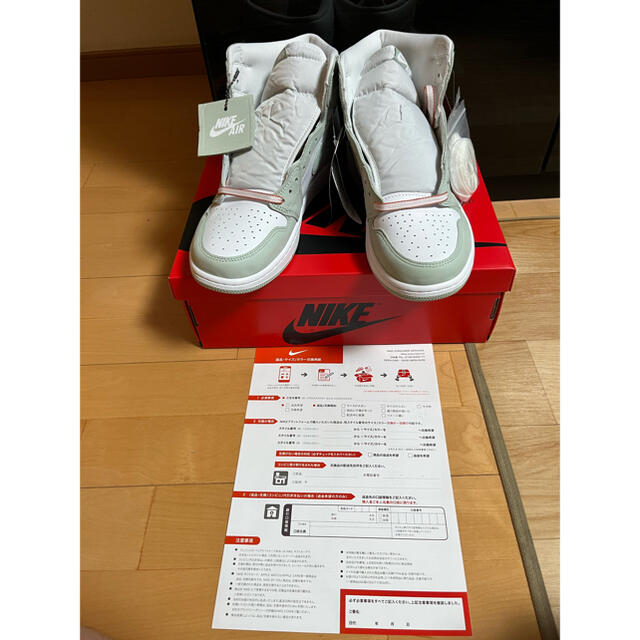 "NIKE(ナイキ)のNike Wmns Air Jordan 1 ""Seafoam"" w29cm メンズの靴/シューズ(スニーカー)の商品写真"