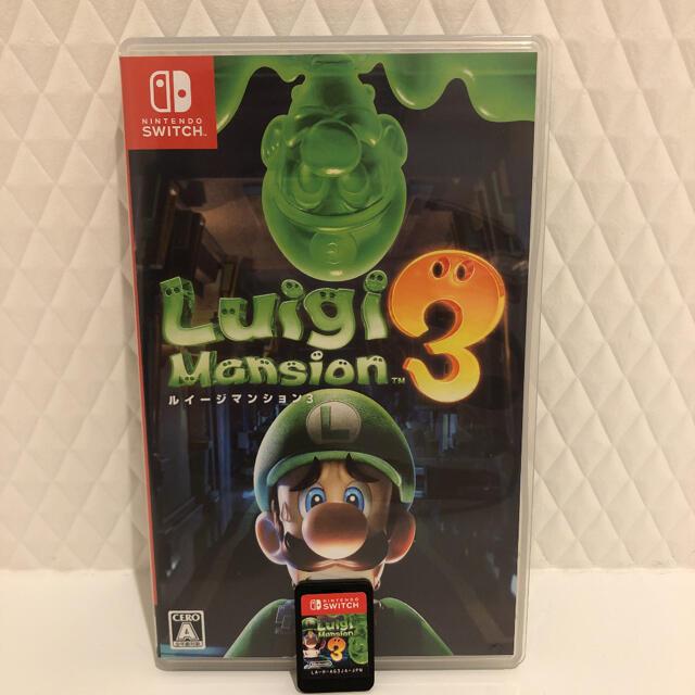 Nintendo Switch(ニンテンドースイッチ)のルイージマンション3 Switch エンタメ/ホビーのゲームソフト/ゲーム機本体(家庭用ゲームソフト)の商品写真