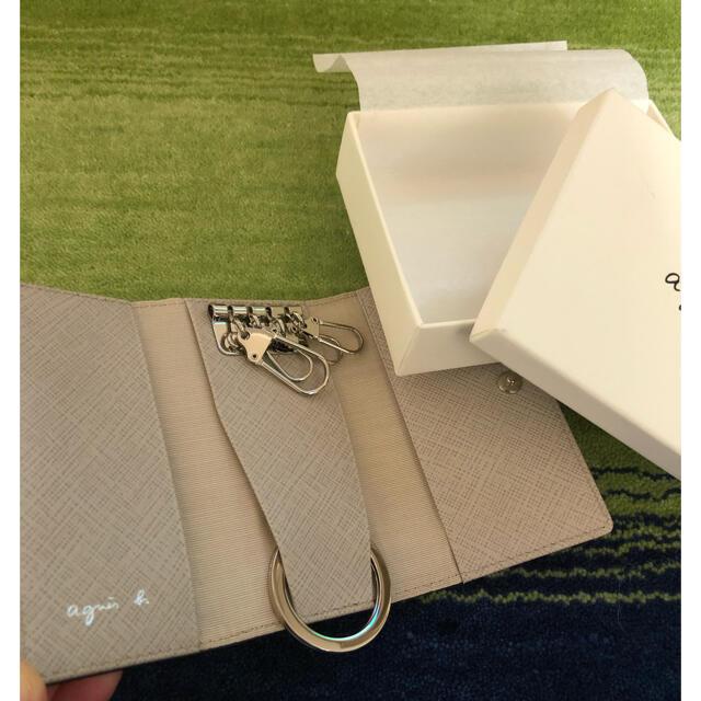 agnes b.(アニエスベー)の美品 未使用キーケース レディースのファッション小物(キーケース)の商品写真