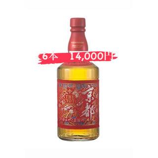 サントリー - 京都ウイスキー 西陣織 赤帯 700ml 40% 【6本】