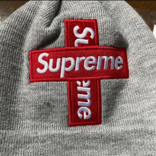 Supreme - supreme クロスボックス ニット帽