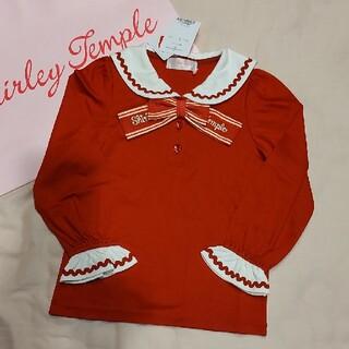 Shirley Temple - 新品 120 赤 セーラー カットソー シャーリーテンプル