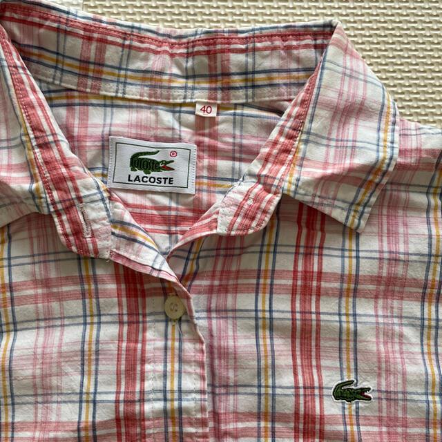 LACOSTE(ラコステ)のLACOSTE grn 半袖シャツ レディース レディースのトップス(シャツ/ブラウス(半袖/袖なし))の商品写真