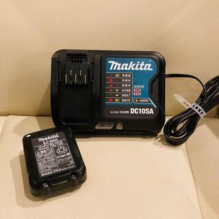 Makita - マキタ 掃除機用充電器【DC10SA】&バッテリー【BL1015】