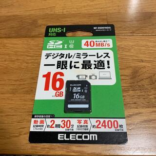 エレコム(ELECOM)のエレコム SDHCメモリカード(UHS-I対応) 16GB 未開封新品(その他)