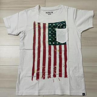 ハーレー(Hurley)のハーレー Hurley   tシャツ   アメリカ  星条旗(Tシャツ/カットソー(半袖/袖なし))