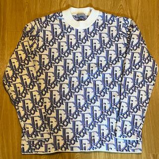 ディオール(Dior)のDIOR  オブリーク ニット Oblique ディオール セーター スウェット(ニット/セーター)