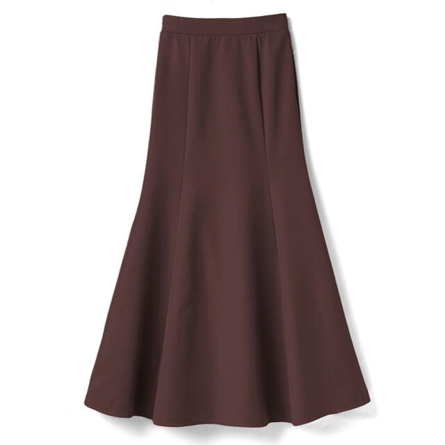 GRL(グレイル)のマーメイドフレアスカート ブラウン レディースのスカート(ロングスカート)の商品写真
