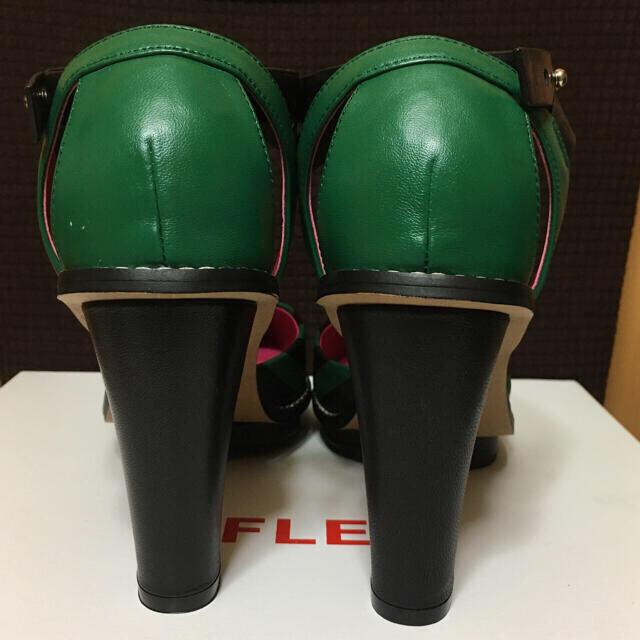 最終値下げ!flei ストライプサンダル レディースの靴/シューズ(サンダル)の商品写真