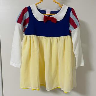 Disney - 白雪姫 衣装 ハロウィン サイズ100 ワンピース