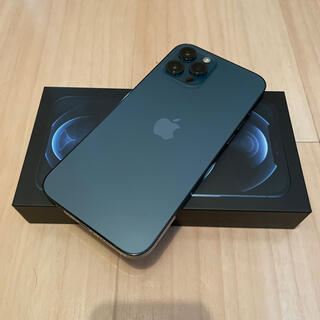 iPhone - iPhone12 Pro Max 128GB SIMフリー パシフィックブルー