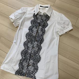 ダブルスタンダードクロージング(DOUBLE STANDARD CLOTHING)のダブルスタンダード Sov. 半袖ブラウス (シャツ/ブラウス(半袖/袖なし))