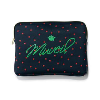 ミュベールワーク(MUVEIL WORK)のBAILA バイラ 10月号 付録 ミュベール りんご柄ボンディングケース(ポーチ)