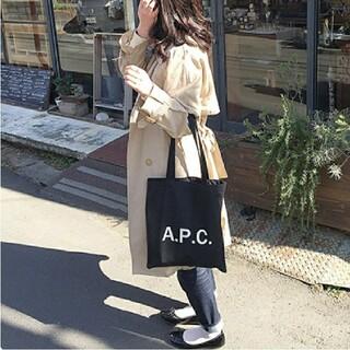 【新品未使用♥️】 APC アーペーセー トートバッグ ブラック
