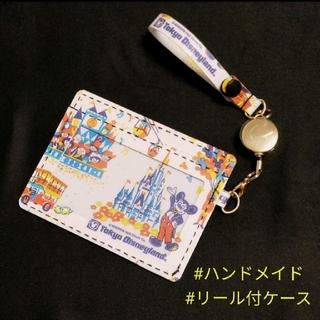 Disney - ②*ハンドメイド*リール付カードケース